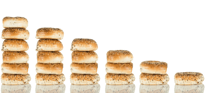 Bagels showing claimable tax credit opportunities