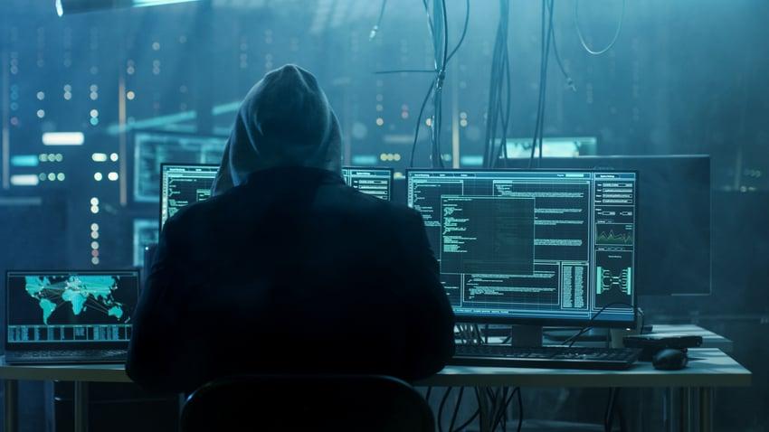 Dangerous Hooded Hacker