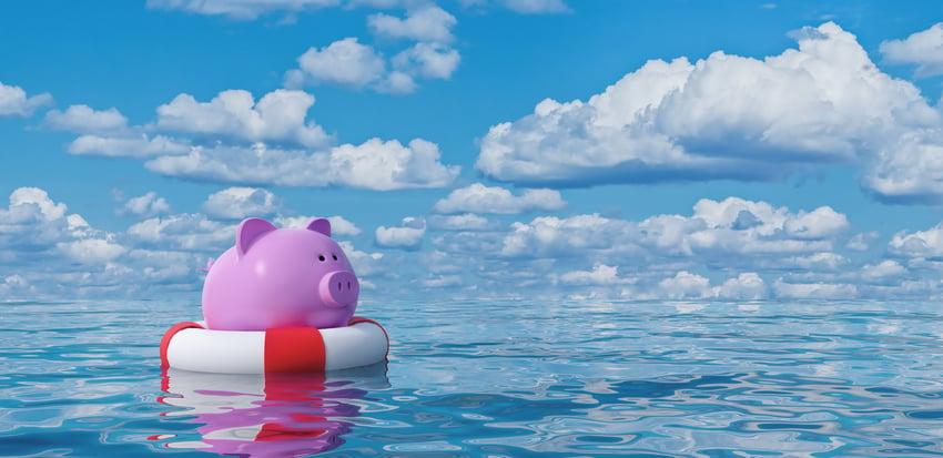 Tax Credit Piggy bank