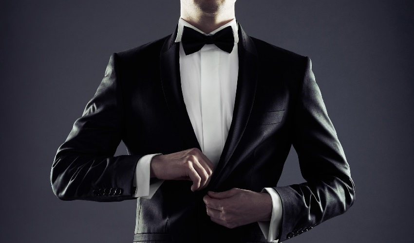 Sharply dressed man